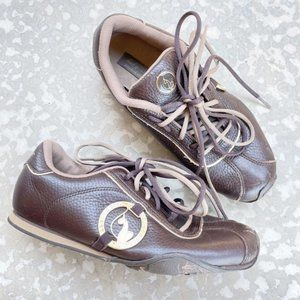 Vintage Baby Phat Y2K Brown Double Lace Up shoes
